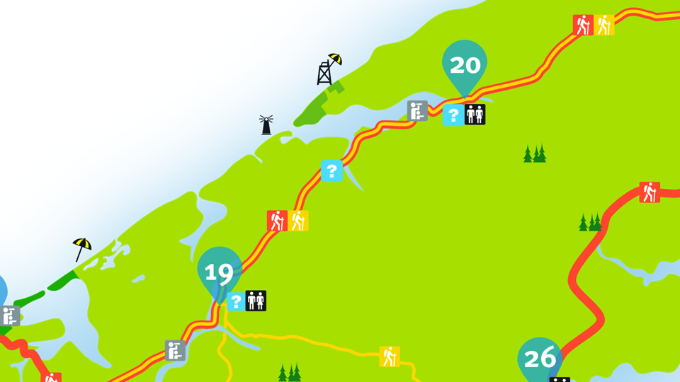 Island Walk Map 19-20