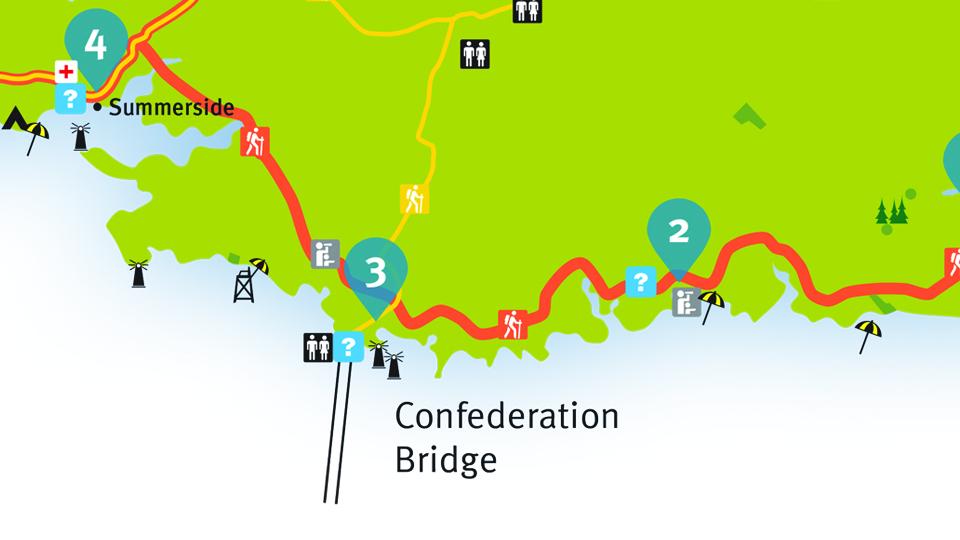 Island Walk Map 2-3