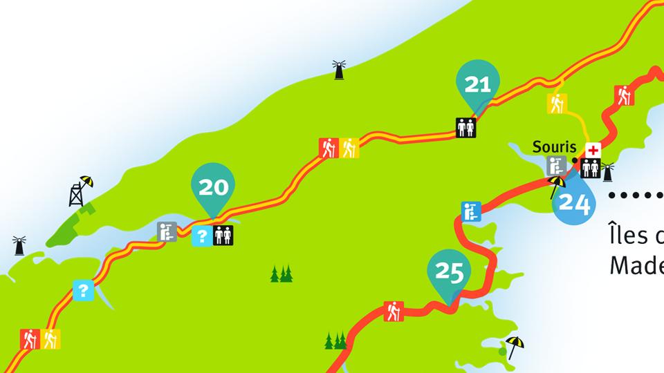 Island Walk Map 20-21