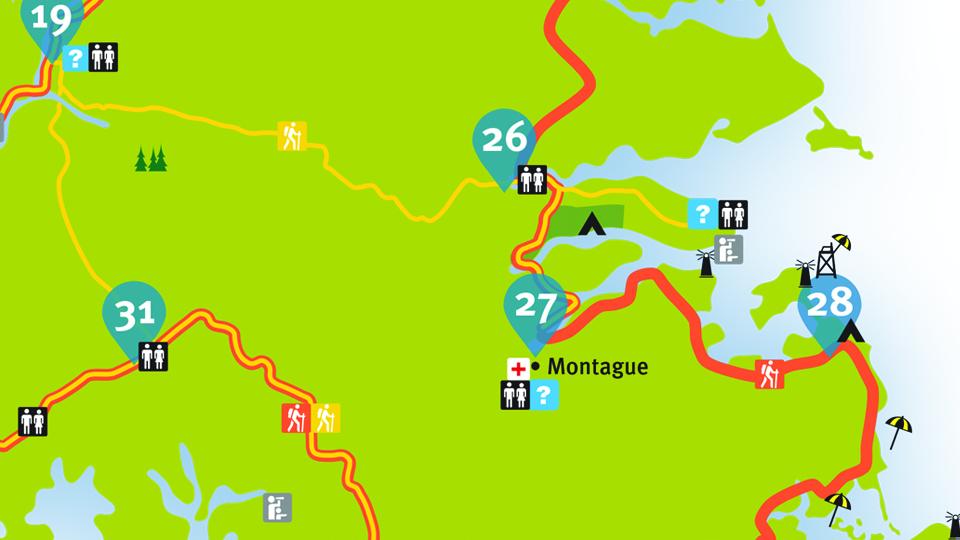 Island Walk Map 26-27