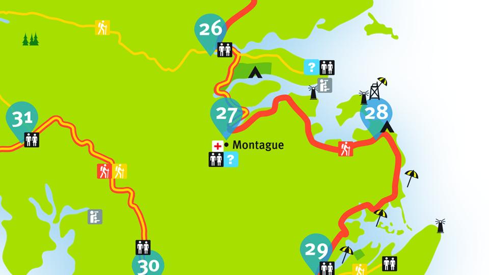 Island Walk Map 27-28