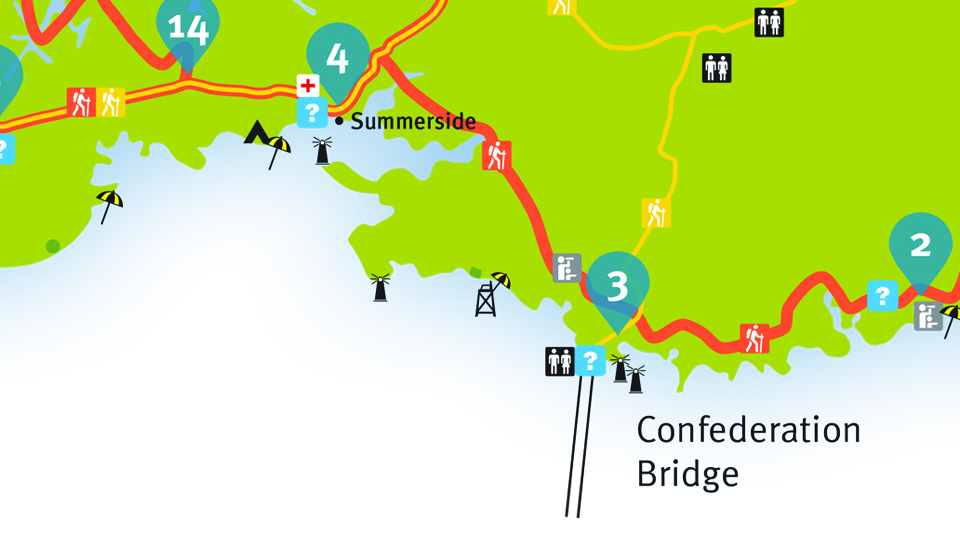 Island Walk Map 3-4