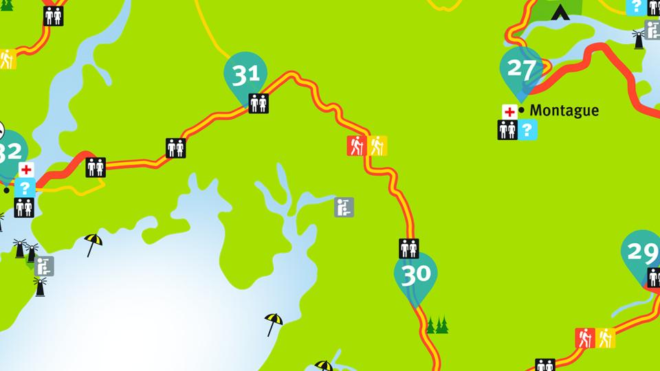 Island Walk Map 30-31