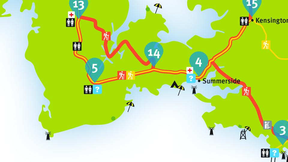Island Walk Map 4-5